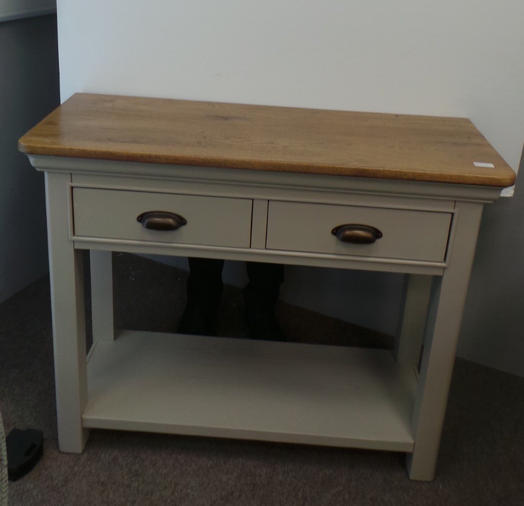 Lyon Painted 2 Drawer Console Table